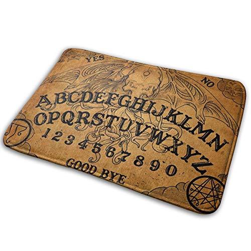 Msanlixian Welcome Doormat Vintage Magic Ouija Board Antique Non-Slip Doormats Indoor/Outdoor/Front Door Mats Floor Mat Entrance Rug 15.7 X 23.6 in for Bathroom Bedroom Kitchen