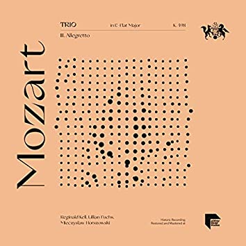 Mozart: Trio in E-Flat Major, K. 498: III. Allegretto