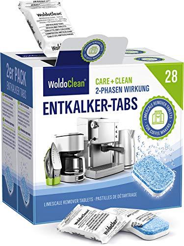 Pastillas de descalcificación de 2 fases para máquina de café - 28x 16g compatibles con todos los fabricantes