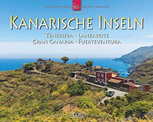 Kanarische Inseln - Teneriffa - Lanzarote - Gran Canaria - Fuerteventura: Original Stürtz-Kalender 2020 - Großformat-Kalender 60 x 48 cm