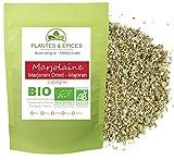 Plantes & Epices - Marjolaine Feuilles Herbes séchées BIO - Sachet Fraîcheur Biodégradable Refermable (100g)