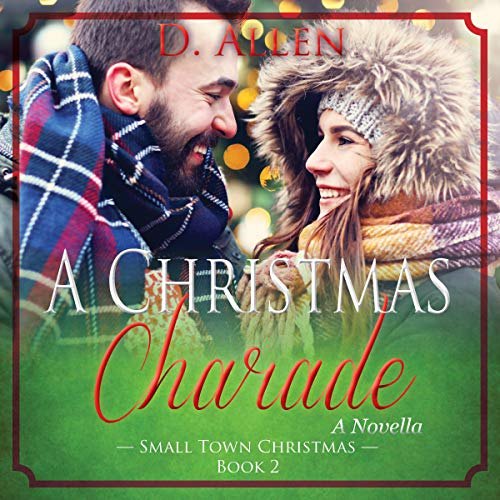 A Christmas Charade audiobook cover art