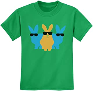 Easter Bunny Hip Trio Bunnies Funny Gift for Easter Kids T-Shirt