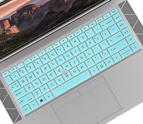 Keyboard Cover Skin for HP EliteBook 840 845 G7 14 inch Notebook PC,2020 New 14' HP EliteBook 840 G7 Keyboard Protector[Not for HP Elitebook 840 G5/G6]-Mint