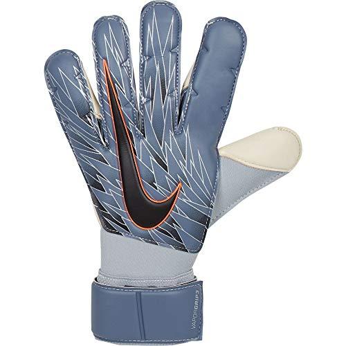 Nike Erwachsene Vapor Grip3 Torwarthandschuhe, Armory Blue/Metallic Silver/Black, 9.5