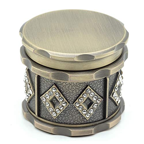 SNVIN Herb Grinder with Small Diamonds for Grinding Herbs and Leaves