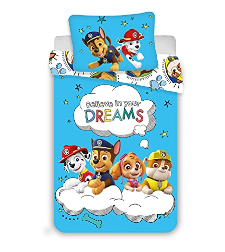 Paw Patrol Baby Cot Bed Duvet an...