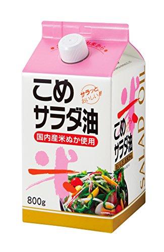 福岡製油 こめサラダ油 800g