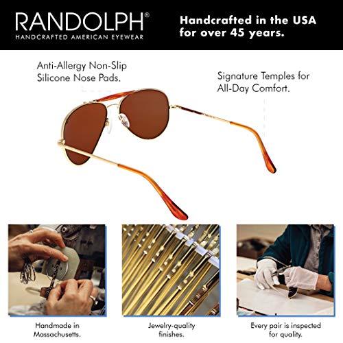 Randolph Archer Spectrum Sunglasses /& Cleaning Kit Bundle