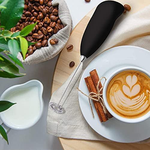 SHINGALA ENTERPRISE milk Frother Handheld,Original Foam Maker for Hot Chocolate-Bulletproof Coffee-Cappuccino-Matcha, Durable Stainless Steel Milk Foamer (MULTI)