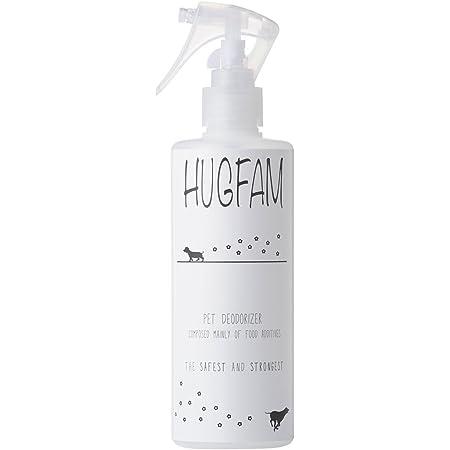 HUGFAM(ハグファム)ペット 消臭 スプレー 無香料 強力 消臭剤 臭い消し 犬 猫 うさぎ 300ml