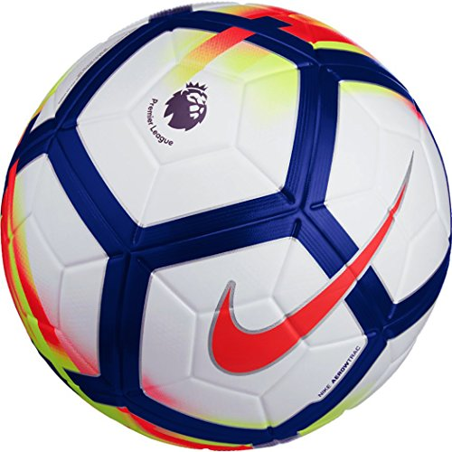 Nike Fußball Premier League Ordem V, White/Crimson/Deep Royal, 5, SC3130-100