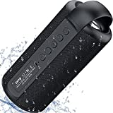 Portable Bluetooth Speakers, ZEALOT Wireless Speakers, 20W Waterproof Speakers, Dual Pairing, Rich Bass Loud Stereo, Hiking Bluetooth Speaker, Outdoor Speakers for Cycling & Travel