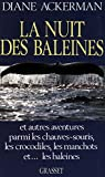 La nuit des baleines (Essais Etranger) (French Edition)