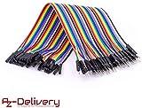 AZDelivery Jumper Wire Kabel 40 STK je 20 cm F2M Female to Male für Arduino und Raspberry Pi...