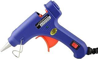 Telas 20W de Alta Temperatura GALAX PRO Pistola de Pegamento Caliente Madera,Tarjetas Reparaciones del Hogar Adecuado para Entusiastas del Bricolaje Manualidades 30 Barras de Pegamento