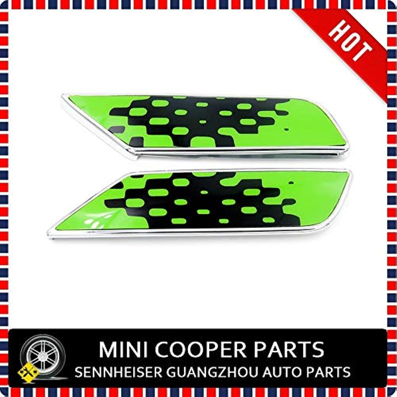 Brand New ABS Material UV UV UV Protected Chrome Vivid Grün Style