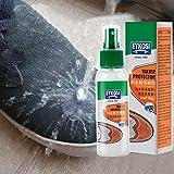 pologyase Spray impermeabilizante para Zapatos y Botas, Resistente al Agua y a Las Manchas de Larga duración para Cuero, Gamuza, Nubuck, Piel de Oveja y Telas bearable