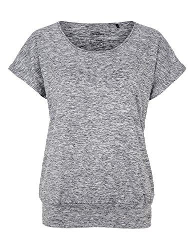 Venice Beach Damen Riamee T-Shirt, Coal B Melange, L
