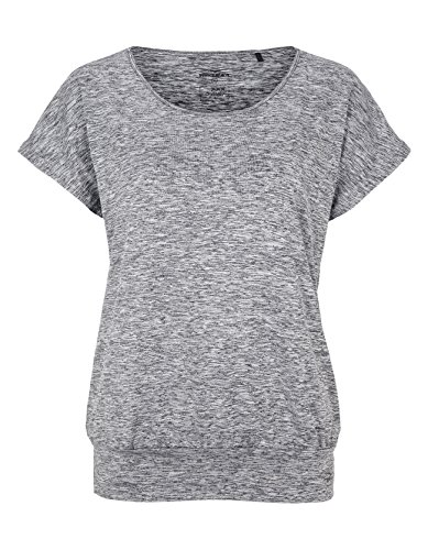 Venice Beach Damen Riamee T-Shirt, Coal B Melange, S