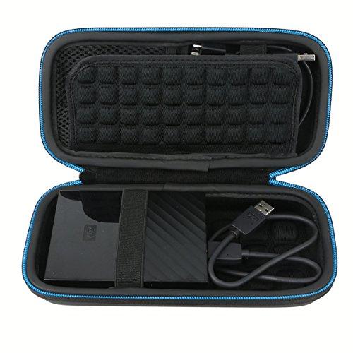 Für Toshiba / Seagate / WD My Passport Stoßsichere Schutzhülle für Externe Festplatten von Markstore