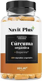 Cúrcuma Orgánica 1490mg con BioPerine®. Suplemento Nº 1