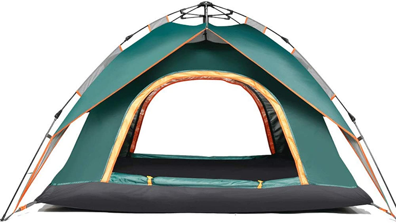 Novopus Zelt:3-4 Personen Automatisch Zelt Camping Zelt, Double Door B07KVDXW9Y  Modernes Design