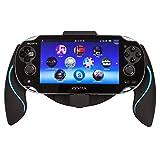 Link-e  - Controller halterung ergonomischer joystick griffe schwarz / blau für Sony PS Vita 1000...