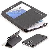 Coque Galaxy Note Edge, Étui Urcover Style Couverture de Livre [Ouverture S-View /...