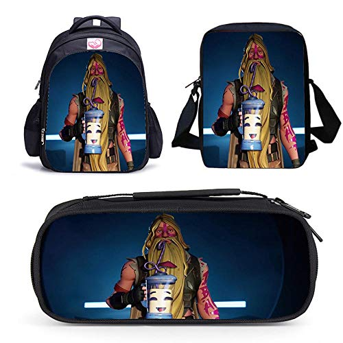 Summer Season 9 Game Backpack for Primary and Secondary School Students wear-Resistant Lightening Bag Three-Piece in Stock-Season 9 28-03_Three-Piece Suit