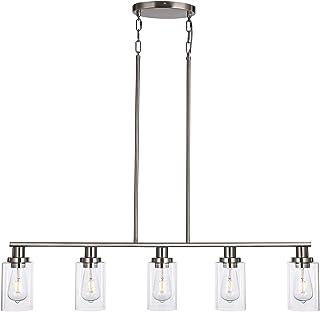KPIOK Kitchen Island Pendant Lighting, 5-Light Pendant...