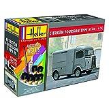 HELLER maqueta, 56768, Citroen Fourgon HY, 1/24