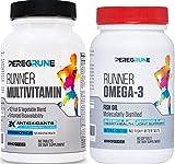 Runner Multivitamin & Omega 3 Bundle   Engineered Multivitamin for Runners   Antioxidants for Health...