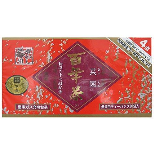 精茶百年本舗 百年茶 赤箱 菜園 煮出し用ティーバッグ 30袋入 [0009]
