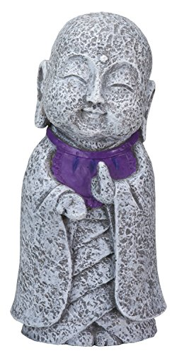 Ksitigarbha Jizo Ojizo Sama Japanese Figure, Purple by Summit