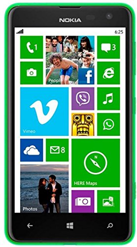 Nokia Lumia 625 Smartphone (4,7 Zoll (11,9 cm) Touch-Display, 8 GB Speicher, Windows 8) grün