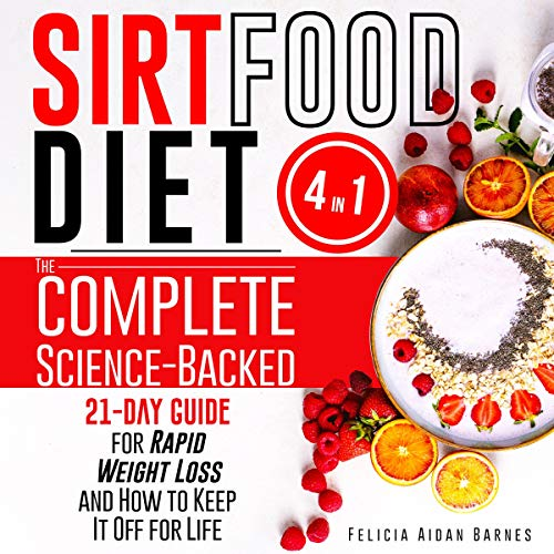 Sirtfood Diet: 4 in 1 cover art