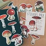 BLOUR 17 Uds Pegatinas de Setas Silvestres Manualidades y Pegatinas de álbum de Recortes Libro Etiqueta de Estudiante Pegatina Decorativa DIY papelería
