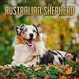 Australian Shepherd 2021-2022 Calendar: Great 18-month Grid Calendar 2022 from Jul 2021 to Dec 2022 for all pets loves