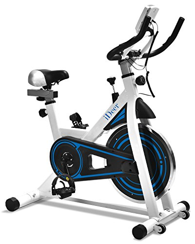 Exercise Bike Stationary Indoor Cycling Bicycle, Stationary Spin Bike with...