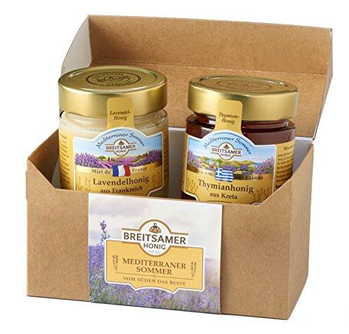 Breitsamer Honig Mediterraner Sommer Duo in der Geschenkbox, 630 g