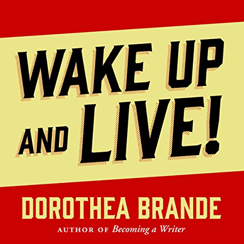 Wake Up and Live! audiobook cover art