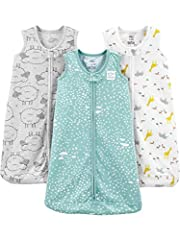 Worry free safety tab keeps zipper away from baby's chin and neck Zipper Closure Trusted Carter's quality, every day low prices, and hassle-free packaging