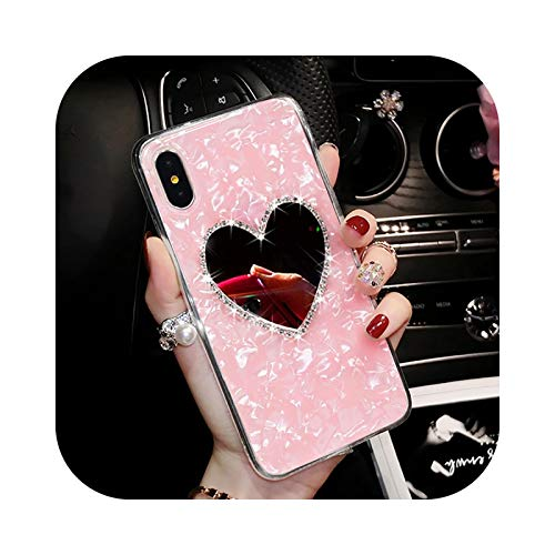 Phone Case Schutzhülle für Galaxy Note 20, weich, Spiegel Diamant 3D für Samsung Galaxy Note 20 Plus Note10 9 S8 S9 S10 S20 A10 A20 A30 S A50 A70-Pink-S10E