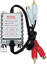 BOSS Audio Systems Ground Loop Isolator B25N noise Filter for Car Audio Systems