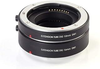 FOTGA Makro AF Autofokus Extension Tube 10mm 16mm Set DG für Canon EOS EF M Mount M M2 M3 M5 M6 II M10 M50 M100 M200