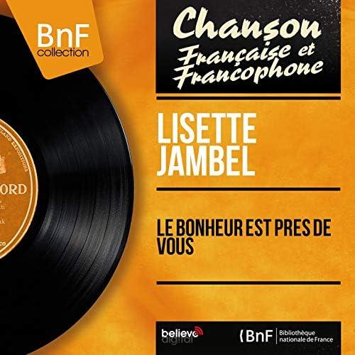 Lisette Jambel feat. Jean Bonal et son orchestre