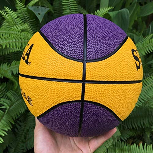 Buy Bargain SSLLPPAA Basketball No. 5 Youth Outdoor Wear-Resistant Absorbent Soft Leather Basketball...