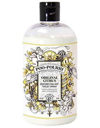 Poo-Pourri Before-You-Go Toilet Spray Refill Bottle, Original