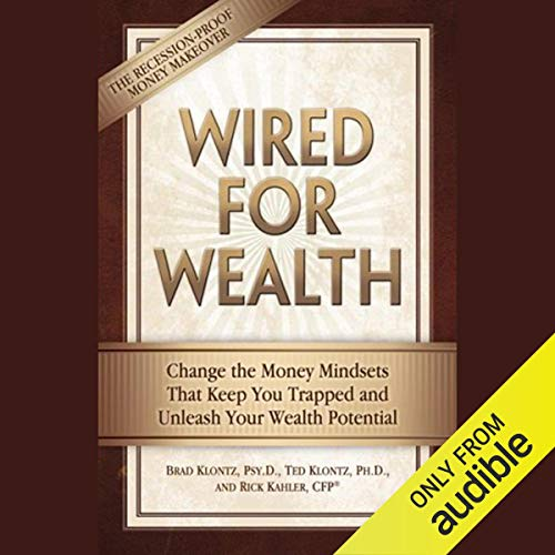 Wired for Wealth audiobook cover art